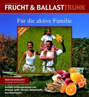 Etikett Frucht & Ballasttrunk