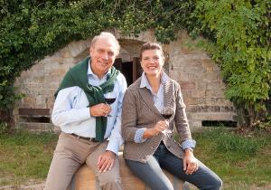 Hans J. Gerhardt mit seiner Tochter Eva-Marie Gerhardt-Burgey