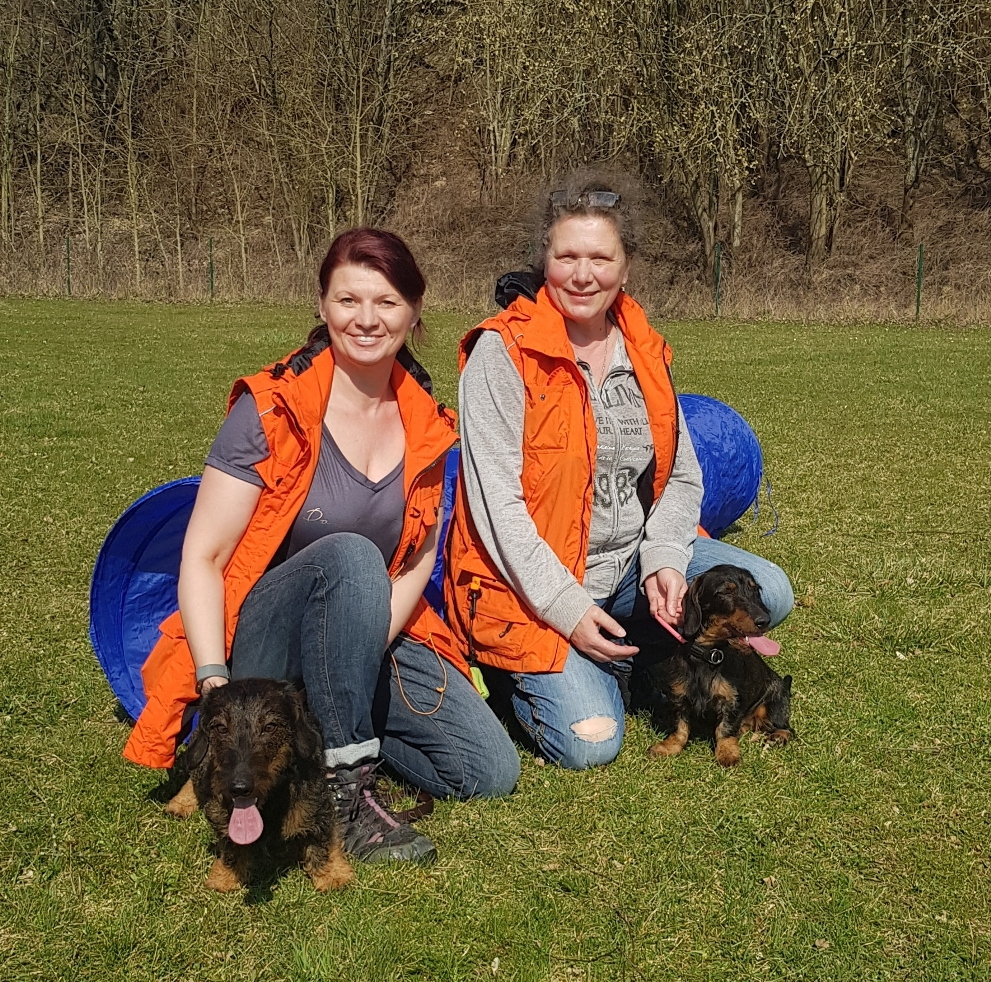 unser Ausbilderteam - Elfriede und Angie