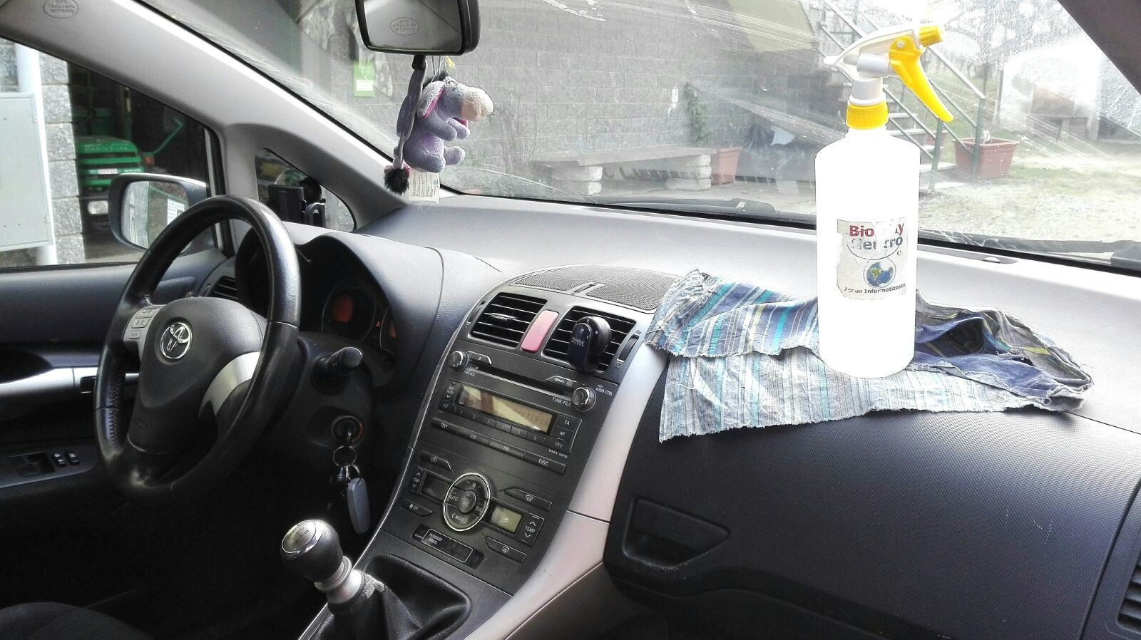 L'auto, deliziarla con dolci massaggi all'acqua informatizzata......