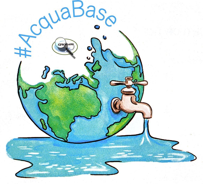 Solo 7 Gocce, per non inquinare?!? Semplicemente, usando #AcquaBase.