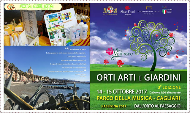 Ottobre 2017 - Fiere in Liguria e Sardegna Con Apicoltura e Floricoltura Cagliari☟