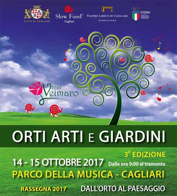 Orti arti e giardini Rassegna 2017 – 3° Edizione 14-15 ottobre 2017 Parco Della Musica – Cagliari