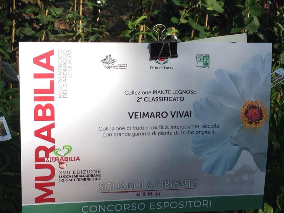 La nostra gratificante partecipazione a Murabilia. Le nostre produzioni le trovate solo nelle migliori esposizioni