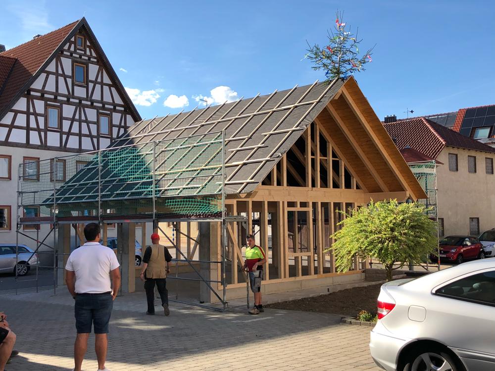 Holz - Garage