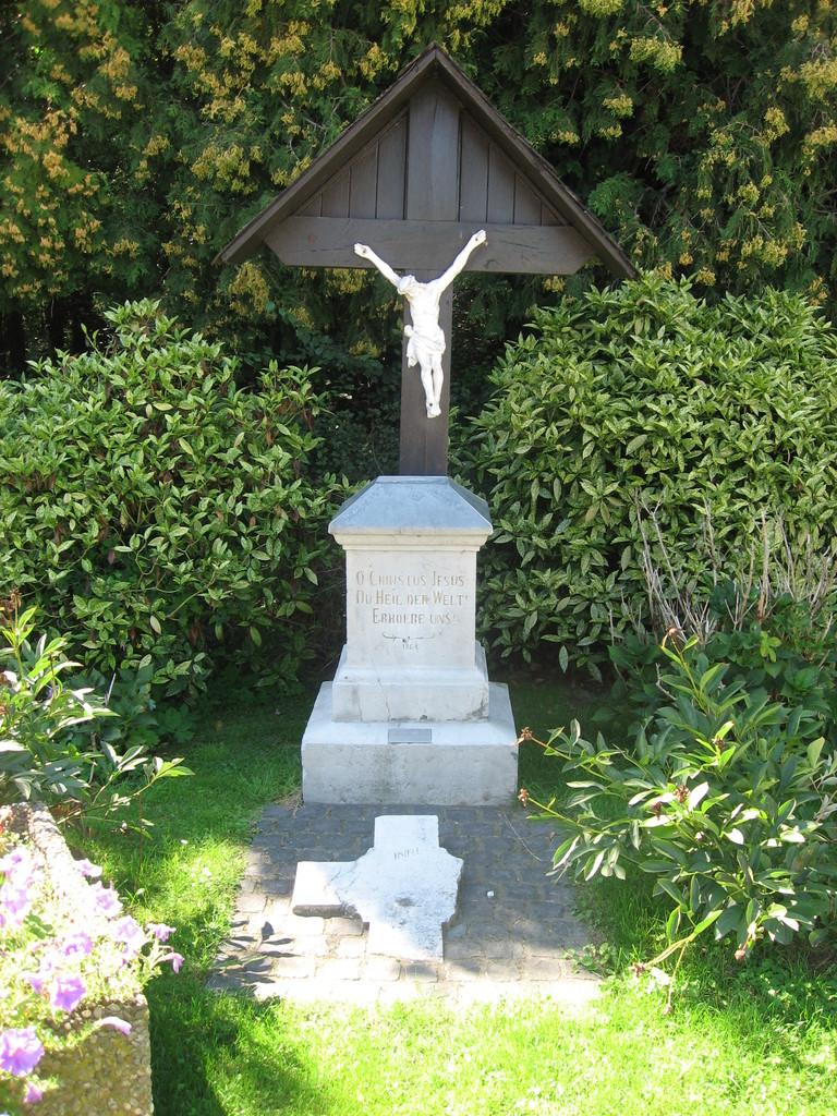 Kreuz von 1864 - Eduard-Kaczmarek-Weg