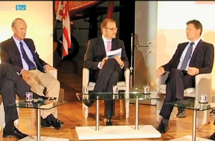 Veranstaltung Wirtschaft im Dialog des Verbandes der Famiienunternehmer