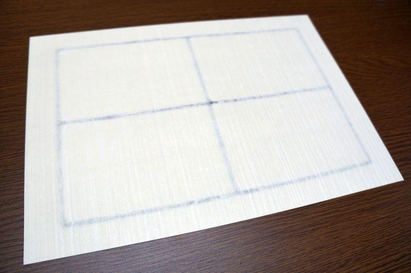 各種OAプリンターで印刷できる、酒類の瓶に貼る手漉き和紙のA4ラベル用紙