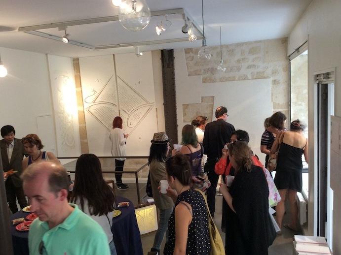 初日のヴェルニサージュでパリデザインウィーク2014がスタート