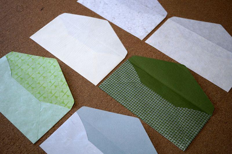 和紙を使った洋形4号封筒の袋部分の大きさは縦105ミリ、横235ミリです