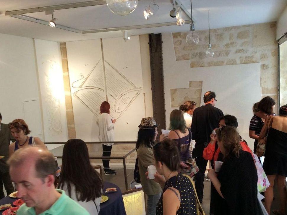 パリデザインウィーク2015の展示会場の様子