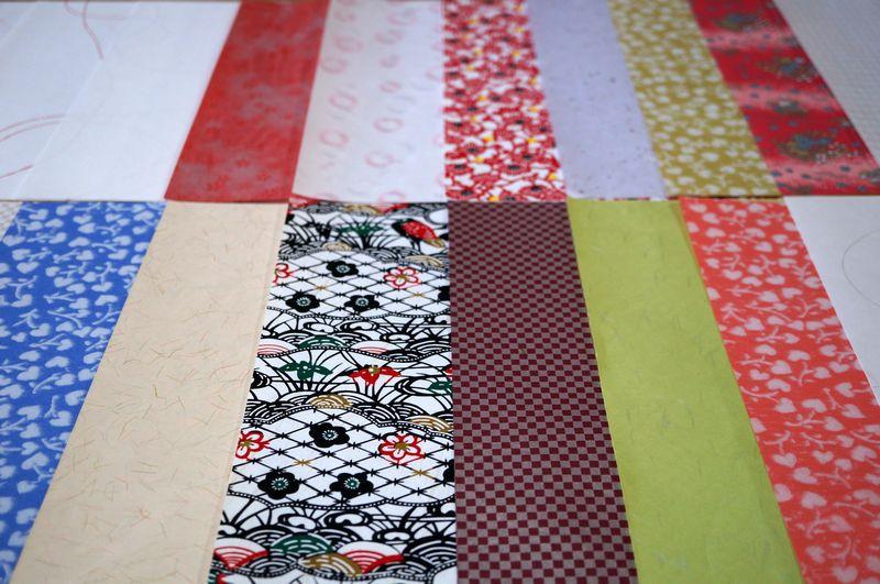 各種和紙を活用して、ポチ袋や各種サイズの封筒をカスタムメイドでお作りします