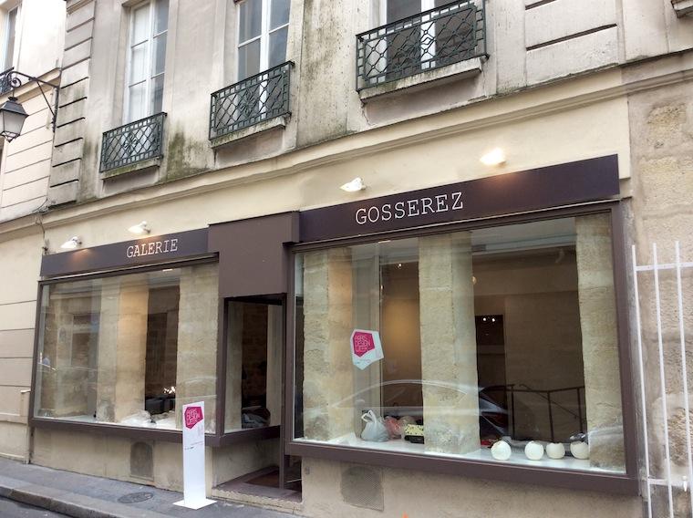 パリ3区にあるギャラリー「ギャラリーゴスレーズ」