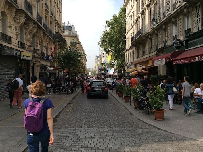 フランス・パリの中心地を散歩してみました