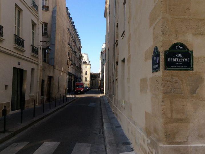 パリ3区のマレ地区