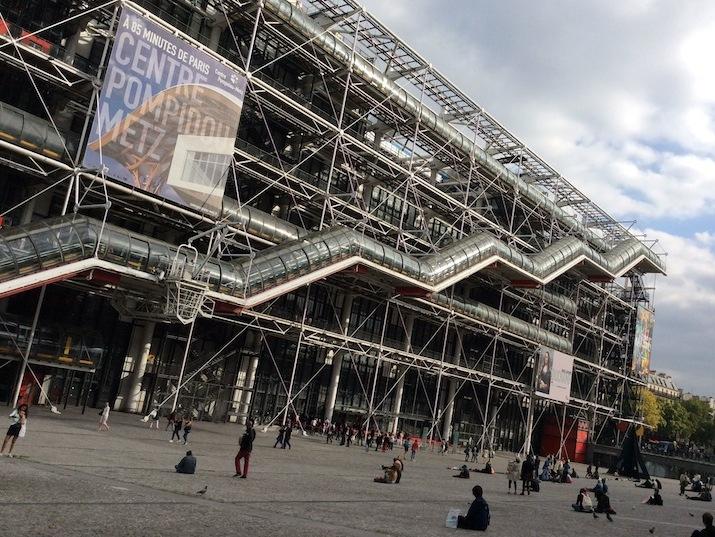パリにある現代アートの美術館「ポンピドゥーセンター」
