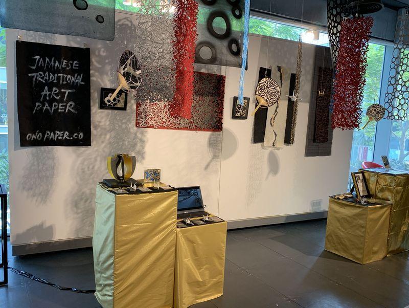UAE・ドバイで開催された会場の展示風景
