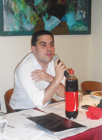 PATRICK KLUGMAN, CONSEILLER DE PARIS, diner-débat autour de l'affaire Fofana Halimi.