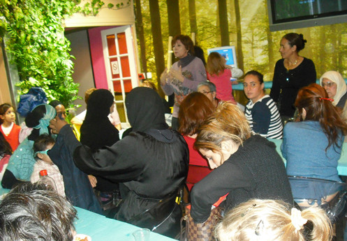 Inauguration pour 19eme arrondissement atelier pâtisseries orientales dim 25 oct 2009 hôtel IDEAL DESIGN 108 BD JOURDAN DES ENFANTS VENUS DE DRANCY.