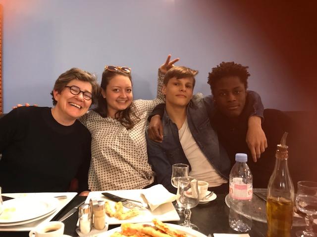 Détente et convivialité : un repas partagé avec le Collège G. Rouault