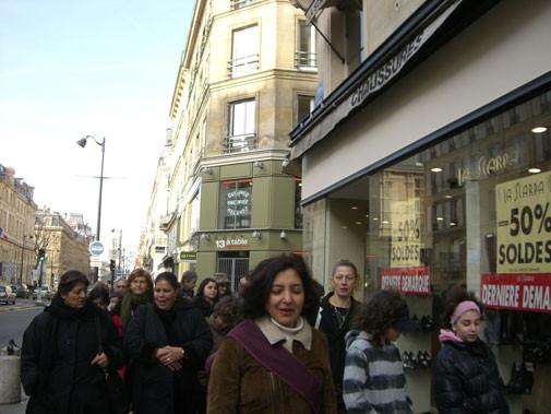 Culture en partage - déjeuner rue des rosiers 75004 PARIS.