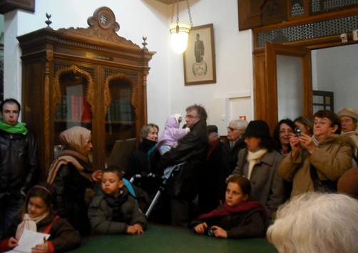 Qui est mon voisin qui est ma voisine activite culture en partage MOSQUÉE DE PARIS dim 31 janv 2010 BIBLIOTHÈQUE DE LA MOSQUÉE.