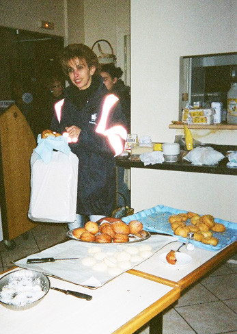 Atelier de pâtisseries orientales.