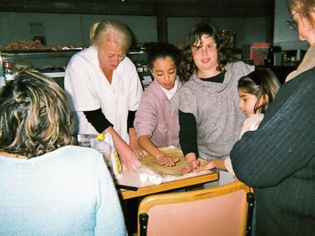 Atelier pâtisserie.