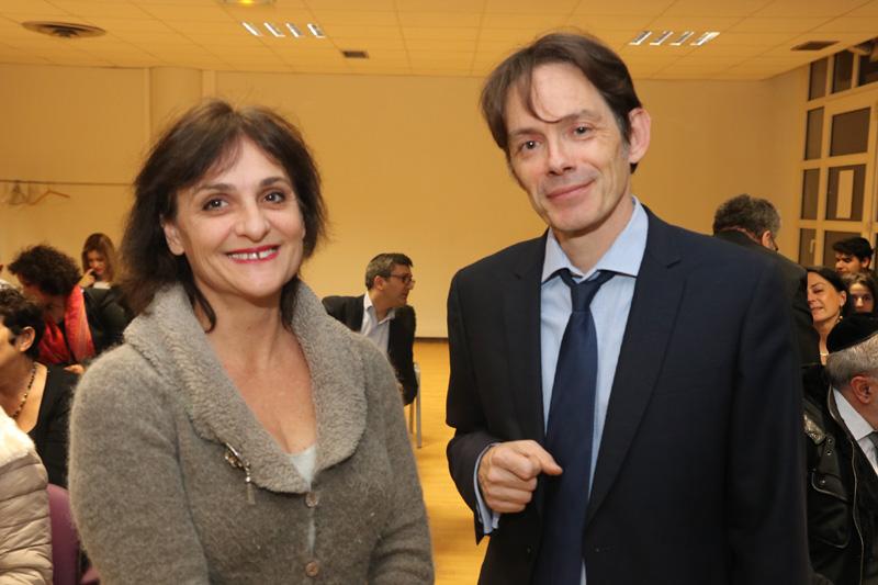 Philippe BONNET, principal lycée Elsa Triollet dans la 13ème, et son épouse