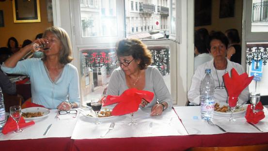 Autour de l'affaire Fofana Halimi Diner-débat la Casa Rina.