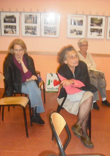 Centre social et culturel J2P 19eme paris débat avec Rosie et Hacinia.