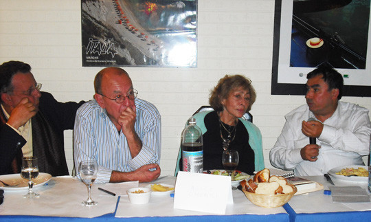 Dîner débat du 21 septembre sur la coexistence judéo musulmane- Benjamin Stora - Alice Cherki et Nabile Farres.