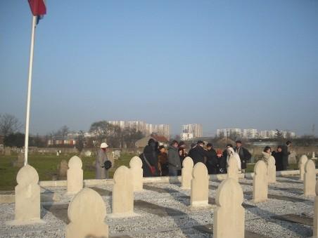 Carré militaire ex-cimetière musulman.