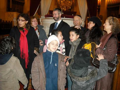 Inauguration pour 19eme arrondissement atelier pâtisseries orientales dim 25 oct 2009 hôtel IDEAL DESIGN 108 BD JOURDAN.