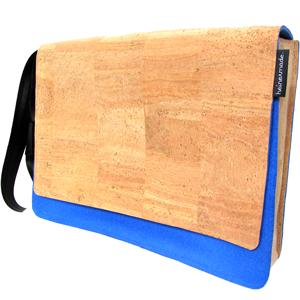 Heinerbag L, Tasche aus Kork und Wollfilz