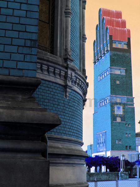 Fünf-Finger-Turm Mathildenhöhe Darmstadt (2014, Fotografin: Stephanie Müller, alle Rechte vorbehalten)