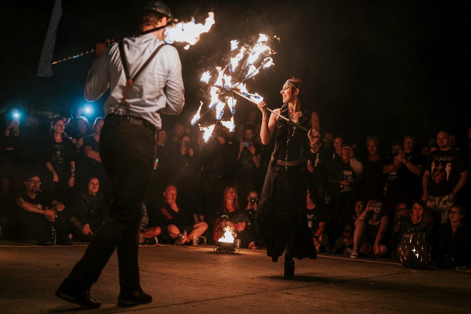 Feuertheater Hildesheim, M'era Luna Festival 2019, Foto: Robin Schmiedebach