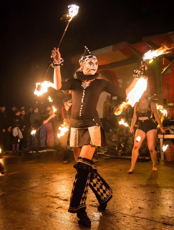 Zirkus Feuershow in Hildesheim