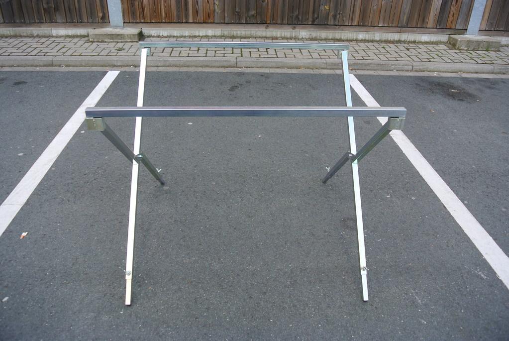 Scherenkreuz für Tische bis 200 kg belastbar