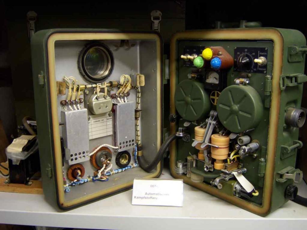 Im Fundus des Grenzlandmuseums - Funktechnik