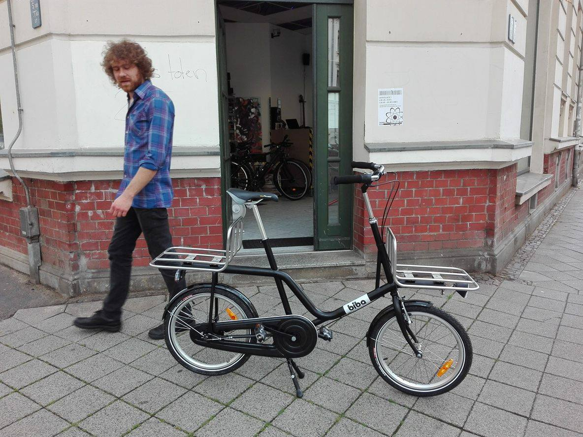 Ich und ein Rad was ich nicht gebaut habe.