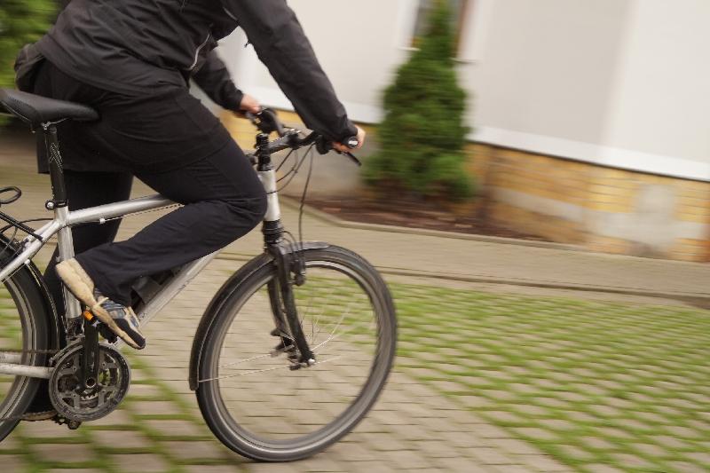 """Was seltenes: Ein 26"""" Trekkingrad mit großer Übersetzung."""