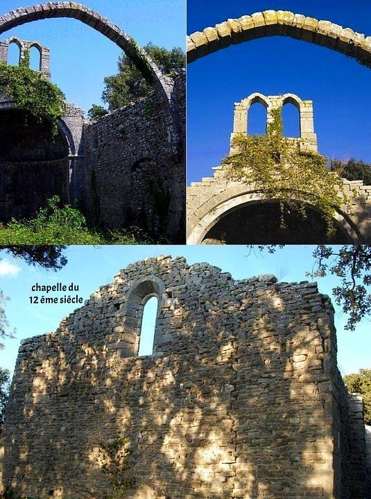 La chapelle du 12 ème siècle