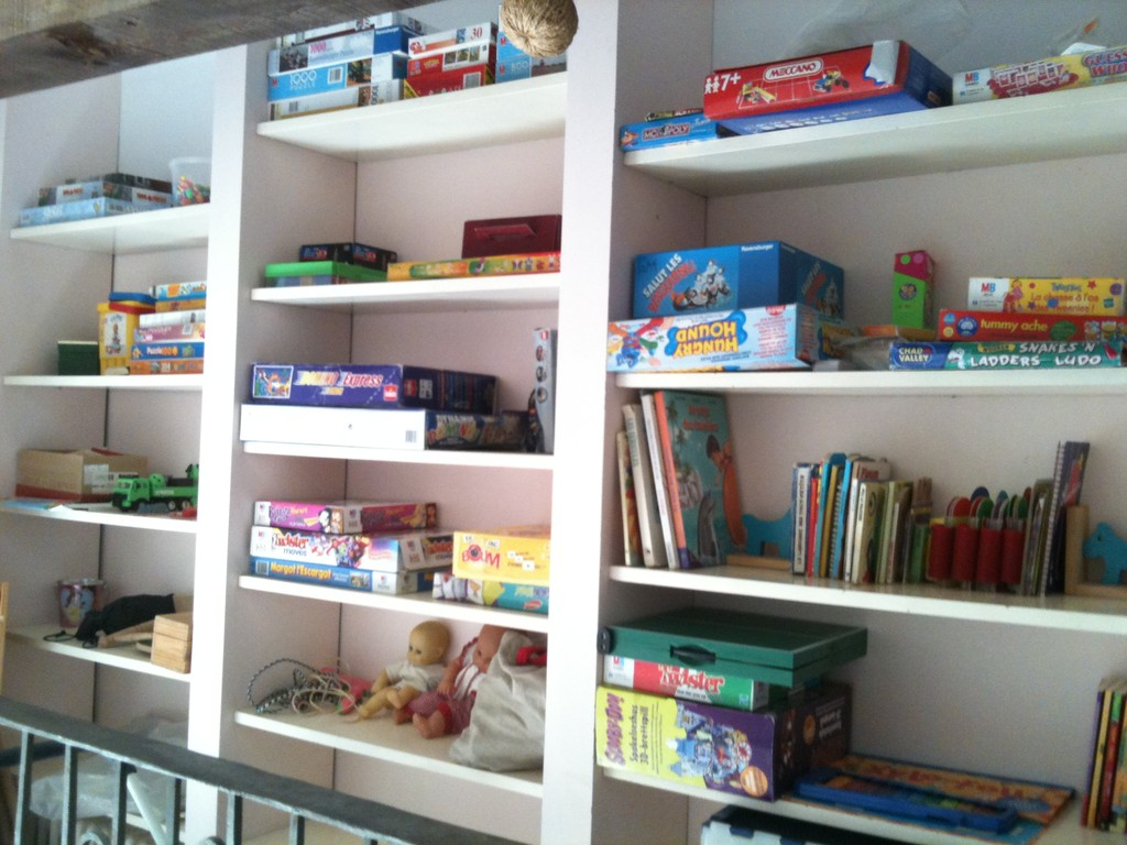 Games and toys for the children