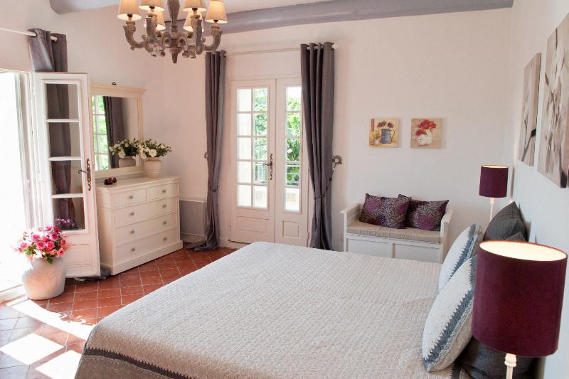 Chambre Amaranthe à l'étage