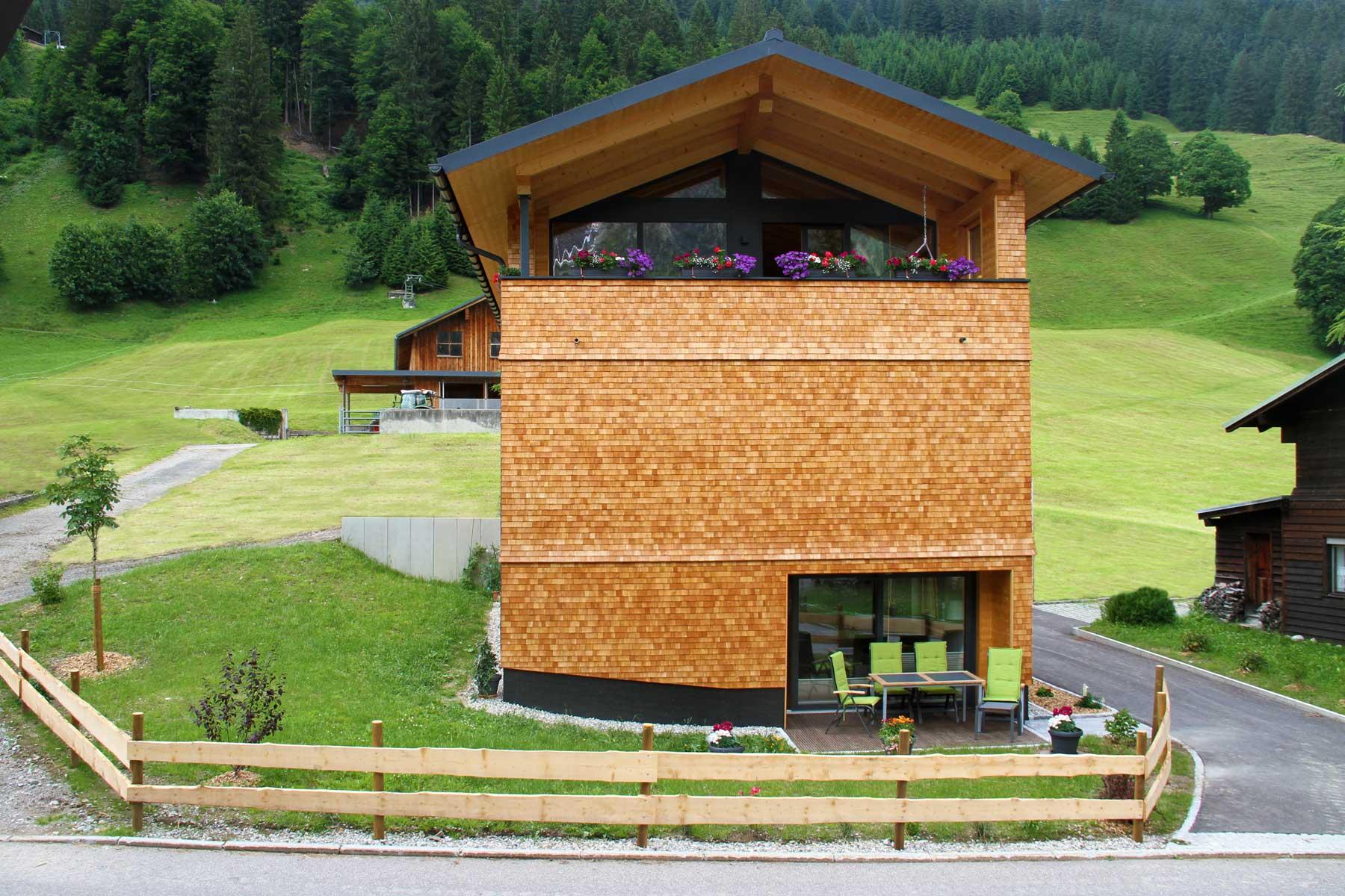 """Die """"Ferienwohnung"""" Willam in Mittelberg im Kleinwalsertal, unser Haus"""