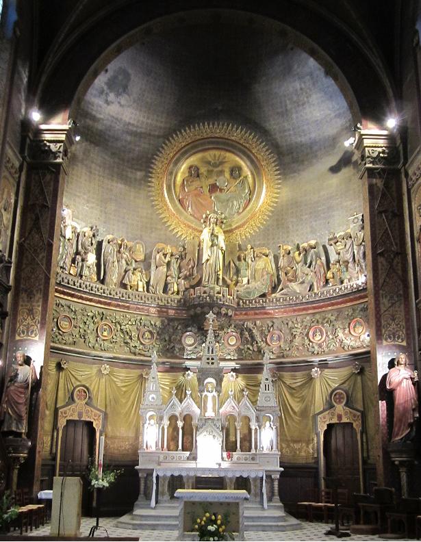 Chœur de la basilique