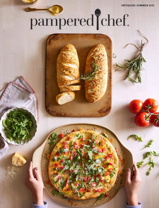Im Pampered Chef® Online-Katalog blättern und im Onlineshop einkaufen