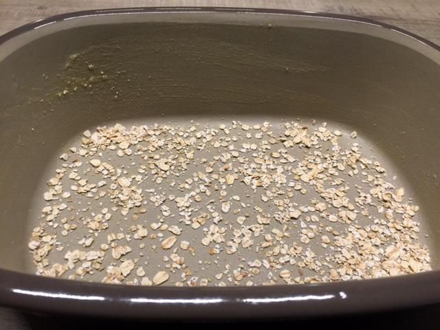 Du kannst natürlich auch andere Saaten nehmen zum ausstreuen oder nur Mehl aus dem Streufix benutzen....