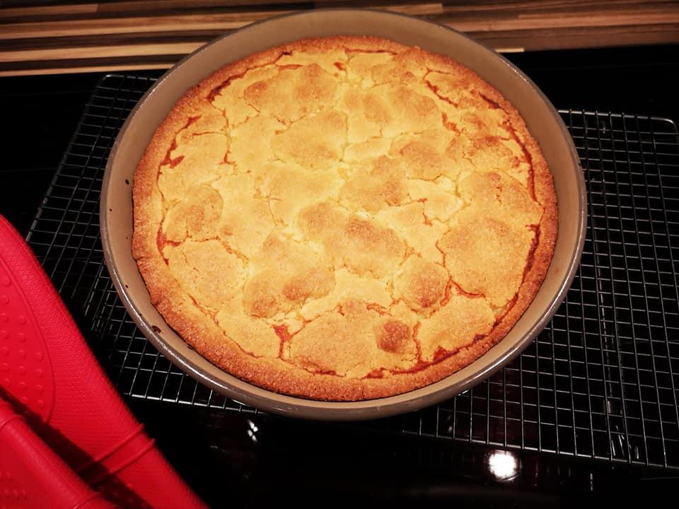 Ein sehr leckerer Kuchen aus der runden Stoneware Kuchenform von Pamperedchef®.